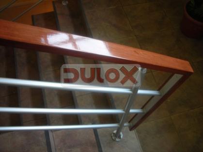 Dulox chile for Barandales de aluminio blanco
